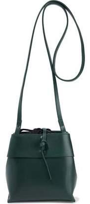 Kara Leather Bucket Bag