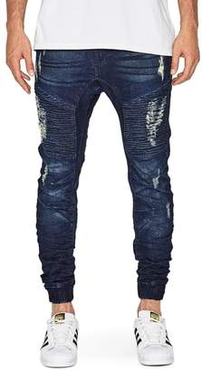 Moto NXP Destroyer Denim Jogger Pants
