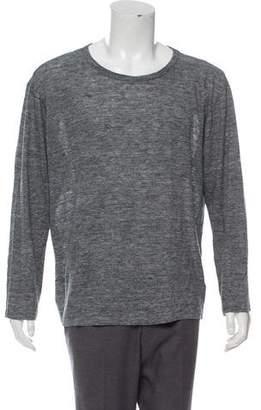 Alexander Wang Linen Scoop Neck T-Shirt