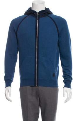 Louis Vuitton Initiales Zip Front Hoodie blue Initiales Zip Front Hoodie