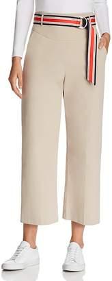 Karen Millen Belted Wide-Leg Pants - 100% Exclusive