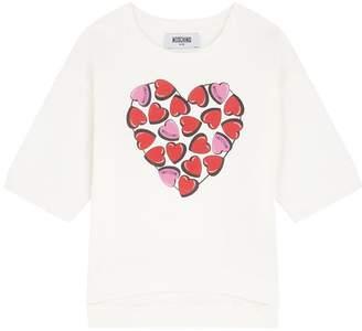 Moschino Love Heart Print Sweatshirt