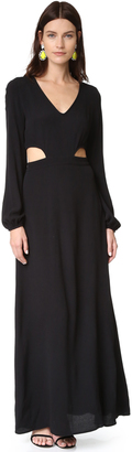 Wildfox Cut It Out Maxi Dress $187 thestylecure.com