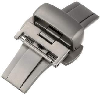 Hadley-Roma 16-mm Push Button Deployant Clasp