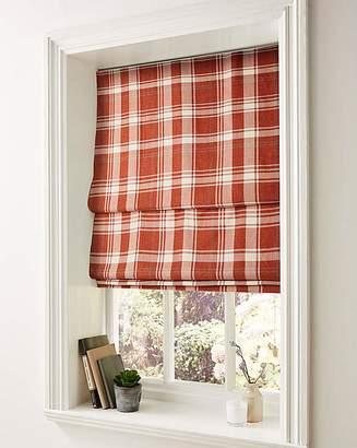 Fashion World Highland Check Roman Blinds