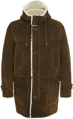 Yves Salomon Paris Long Shearling Parka