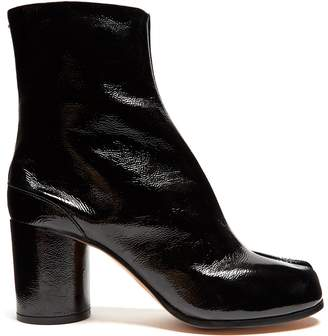 Maison Margiela Tabi split-toe patent-leather ankle boots