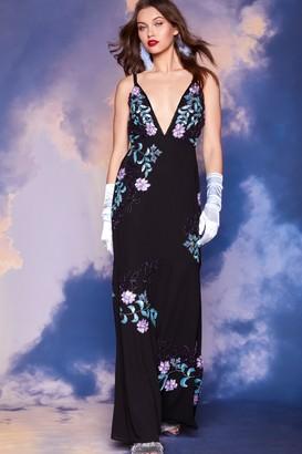 Nasty Gal Studio Paris Floral Dress
