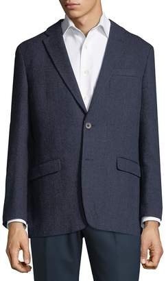 Tommy Hilfiger Men's Tonal Herringbone Sportcoat