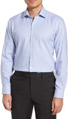 Tailorbyrd Nas Trim Fit Plaid Dress Shirt