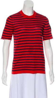 Louis Vuitton Silk Stripe Top