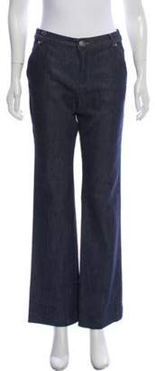 Vanessa Seward Mid-Rise Straight-Leg Jeans w/ Tags blue Mid-Rise Straight-Leg Jeans w/ Tags