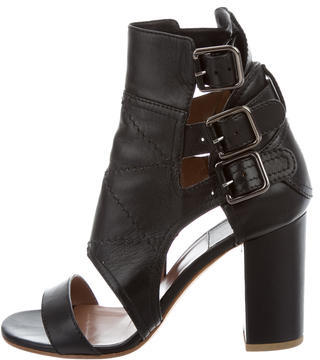 Laurence Dacade Leather Dana Sandals $295 thestylecure.com