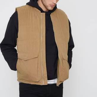 Bellfield Brown padded vest