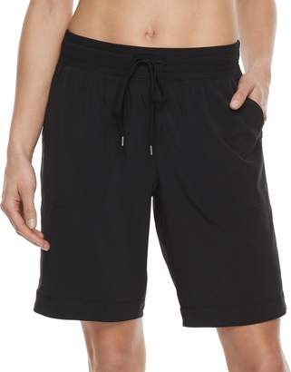 Tek Gear Women's Woven Bermuda Shorts