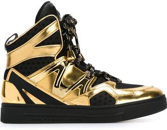 Marc By Marc Jacobs 'Ninja' hi-top sneakers $561 thestylecure.com