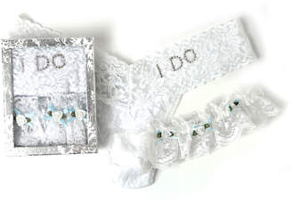 Hanky Panky I Do Bridal Thong/Garter Set