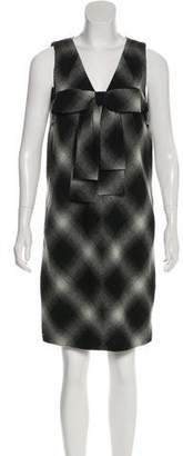 Robert Rodriguez Beat Check Knee-Length Dress