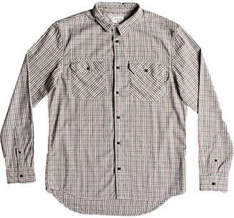 Quiksilver Men's Fuji View Button Down Flannel Shirt