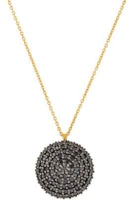 Gurhan Diamond Lentil Pendant Necklace