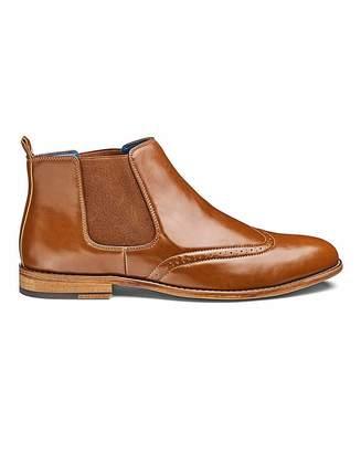 d317bc2c65d85 Jacamo Brogue Chelsea Boots Standard Fit