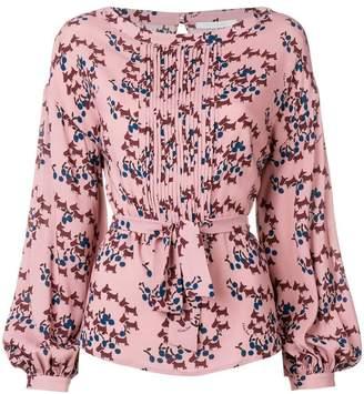 L'Autre Chose printed blouse