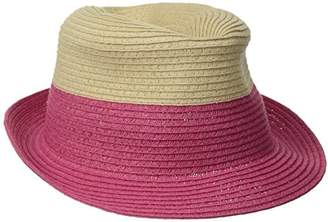Physician Endorsed Women s Jackie G Small Packable Fedora Sun Hat d99989ee6801