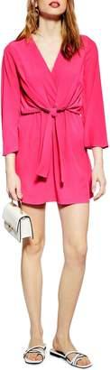 Topshop Tiffany Knot Minidress