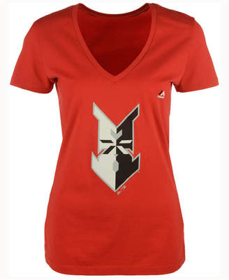 Majestic Women's Indianapolis Indians Primary Club Logo T-Shirt