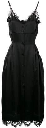 Simone Rocha lace trim slip dress