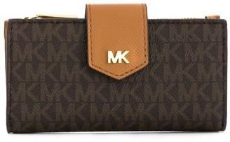 MICHAEL Michael Kors logo print wallet