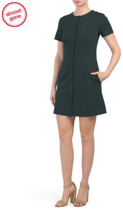 Easy Snap Shift Dress