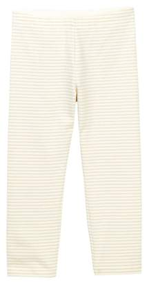 Tea Collection Sparkle Stripe Capri Leggings (Toddler & Big Girls)