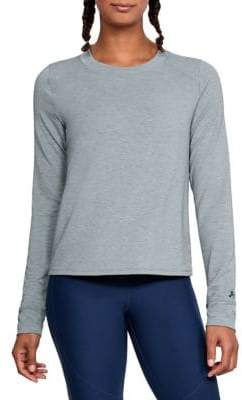 Under Armour Long Sleeve Tulip-Hem Pullover