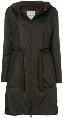 Moncler single breasted trench coat