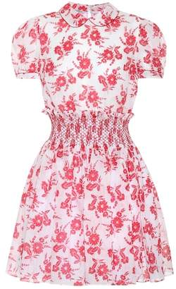 Miu Miu Floral-printed dress