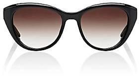 Barton Perreira Women's Graziana Sunglasses-Black, Tokyo tortoise, Smokey topaz