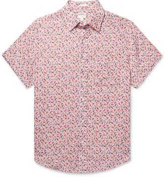 J.Crew Printed Linen Shirt