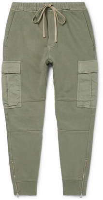 Tom Ford Garment-Dyed Loopback Cotton-Jersey Sweatpants
