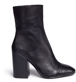 AshAsh 'Flora' leather mid calf boots