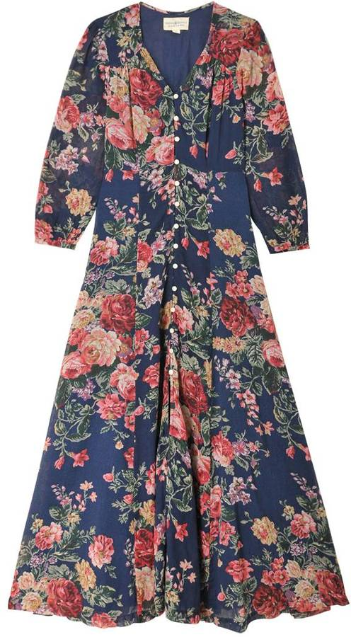 Denim supply ralph lauren robe vas e imprim floral femme - Store imprime photo ...
