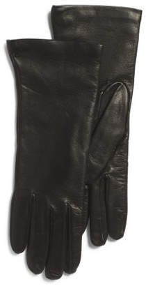 Made In Italy Nappa Leather Wool Lined Gloves