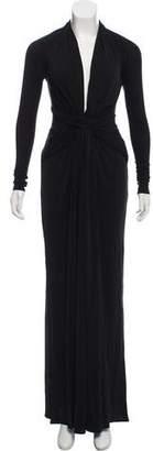 Issa Sleeve Silk Evening Dress w/ Tags