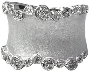 EFFY Balissima Sterling Silver Diamond Band Ring