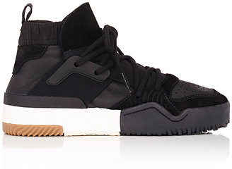 adidas Originals by Alexander Wang Men's Leather and Suede Sneakers $260 thestylecure.com