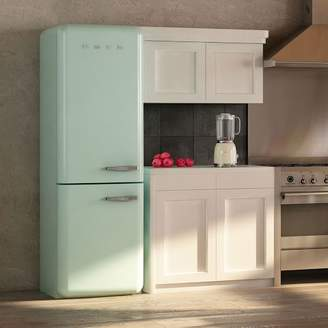 west elm SMEG Two-Door Refrigerator
