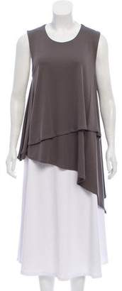 Joseph Asymmetrical Sleeveless Tunic