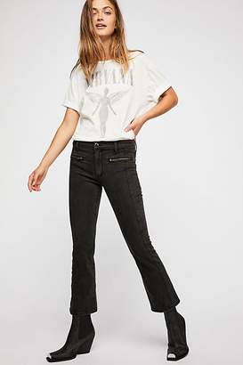 Weslin + Grant Super Cropped Bootcut Jeans