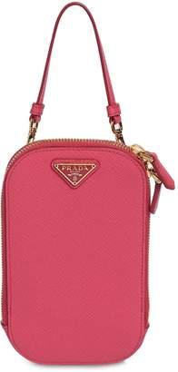 Prada Slim Leather Shoulder Bag