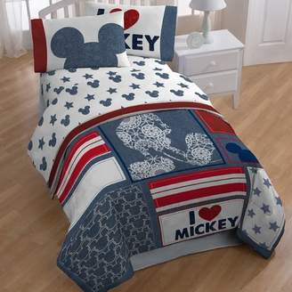 At Wayfair Disney Mickey Twin 4 Piece Toddler Bedding Set